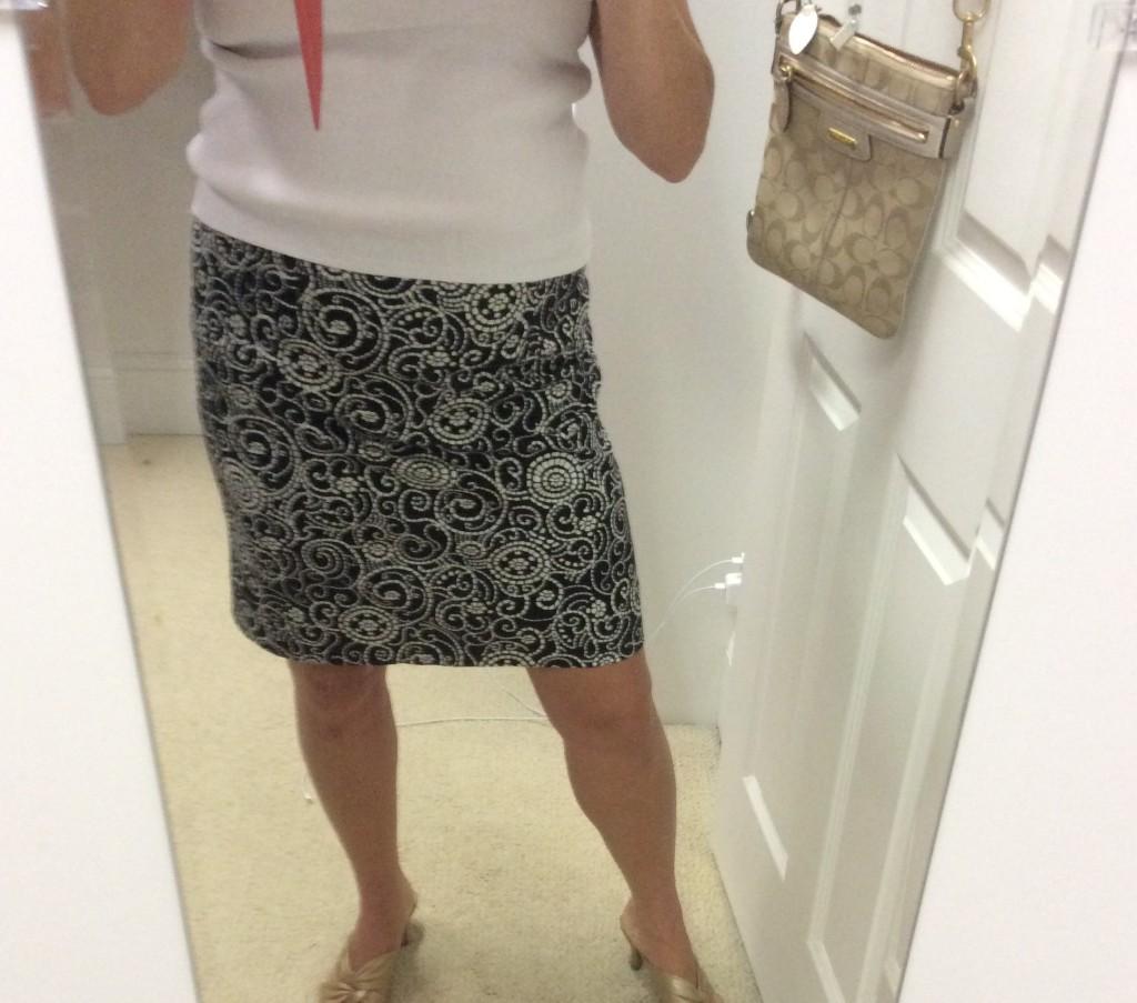 custom skirt from sloper